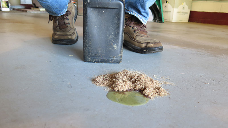 How To Clean Concrete Garage Floors From Oil Stains Rust