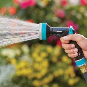 Thumb Control Watering Nozzle with Swivel Connect 4312 5